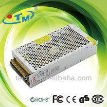 180W dc output 12v 24v power supply constant voltage converter