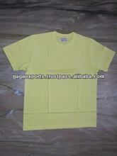 COMBED AND COOL 100 % COTTON 120 GSM ROUND NECK T-SHIRTS