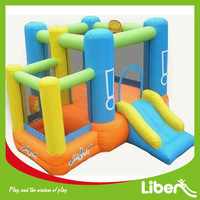 PVC Material Kids Play Castle Inflatables LE.CQ.094
