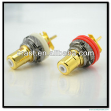 Audiocrast AS-105(G) High End Gold Plated RCA Terminal Socket Female RCA