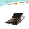 2013 made in China famous black durable man leather wallet- minimalist wallet with card holder