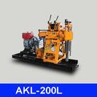 Deep wells drilling machine, AKL-200L mini drill rig