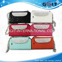 For Luxury Diamond Flip Wallet Phone Bag Case for Samsung N7100