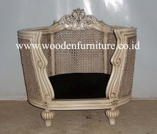 Antique Pet Bed French Style Cat House European Style Home Furniture French Provincial Dog House Classic Dog Sofa