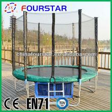 Children outdoor sport health product round trampolines(6FT)