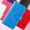 cell phone cover maker Crocodile Flip PU Leather case for Apple iPhone 5 Wallet cover