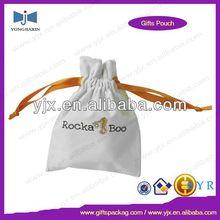 drawstring velvet promotion shopping bags