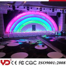 Attractive waterproof led lights wedding decoration