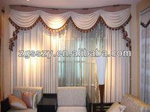 Home decorative motorized retractable curtains