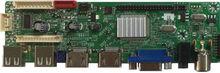 2USB+2HDMI+1AV+1VGA+1TV LCD/LED Full Function TV Board For SAMSUNG CMO AU LGP SHARP BOE Etc Panel