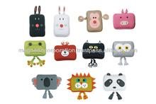 Animal Motif Travel Pouch (Rabbit Black / Rabbit White / Pig / Frog / Bear / Cat / Owl / Koala / Lion / Panda)