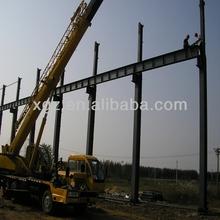 China qingdao light garage steel frame