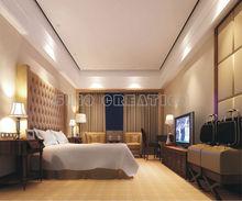 Hotel Interior Design Bedroom Furniture Set SC-T8847