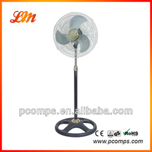 Professional Stand Fans with Round Base 220V