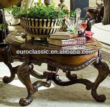 G0-50001 classic glass european classical coffee table