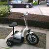 350W Three Wheel Electric Scooter with seat