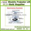 tijera tipo mini de alta calidad inalámbrica de control remoto del proyector motorizado levante