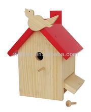 Wooden bird nest010-020-008