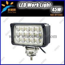 Branded New 12V 45W LED Work Light Lamp Off Road High Power ATV 4x4 Tractor 45W rectangle 30 Degree Spot Light