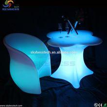 Illuminated rgb table/LED furniture with lighting