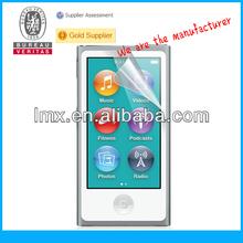 Cheap screen protectors for iPod nano 7 oem/odm(Anti-Glare)