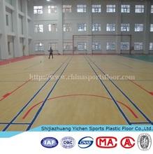 indoor basketball hall/basketball court flooring/basketball flooring mat