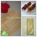 Barato reta secas varas de bambu/varas de bambu redonda/de bambu para churrasco espetos de carne