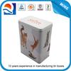 pet food tin box / rectangular metal tin box / tin box with lid