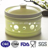 Fine bone china hot coffee pot stand kitchen pot stand