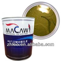 1K Olive Green Metellic Car Paint