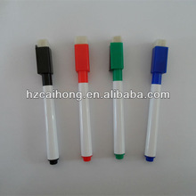 Easy dry erase black Whiteboard marker Pen with brush and magnet for whiteboard with best price CH-6911B