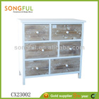2013 hot sale antique wooden commode cabinet w/6 drawers