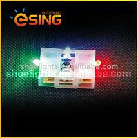 led flashing shoe light for shoes decoration