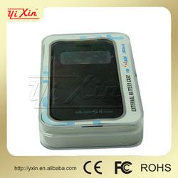 For Samsung Galaxy S4 mini battery case 2600 mAh/rechargeable batttery case for samsung s4mini