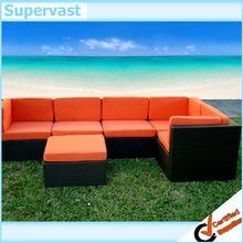 6PC Rattan Wicker Garden Furniture