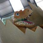 Kids Festival with Dinosaur Egg for Decorative Garden