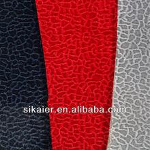 Embossed Flock automotive upholstery fabric
