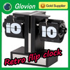 2014 items retro flip clock retro flip digital alarm clock Decorative calendar flip clock
