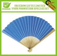 Promotional Gifts Popular Custom Cheap Wooden Hand Fan