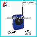 portátil mini altavoz con radio fm y karaoke usb sd jack