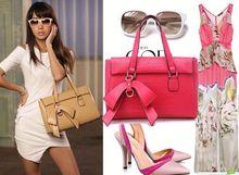 Hot! Italian Nucelle genuine bag ladies woman Leather Handbag