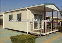 prefab house used as office