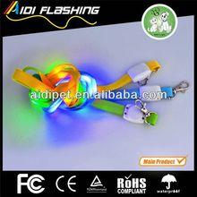 LED flashing lanyard attachments