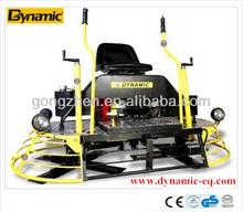 Ride-on trowel plastering machine with Honda/robin subaru engine