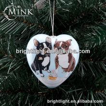 cheap popular heart mark styrofoam christmas decorations