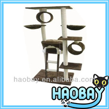 Big Cat Pals Play And Sleep Cat Climbing Trees With Plush And Sisal Materials cat tree