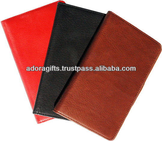 ADALO - 0043 low price leather executive organizer / leather organizer planner agenda notebook with different colors