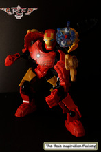 Decool iron man free moving joint Super Heroes model adornament action figure