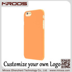 MIROOS factory price scratch resistant color printing oem logo soft touch case for iphone 5