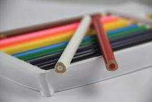 24pcs wooden color pencil EN71/ASTM for OEM